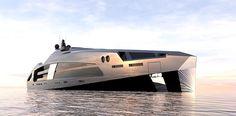 Tecnoneo: 'Aqueous 120' diseño de superyate de lujo de Facheris Design