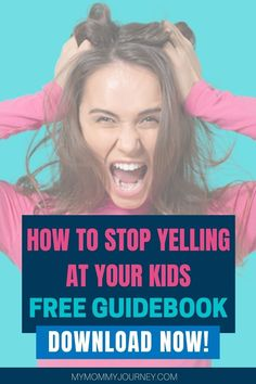 Here is a free guidebook with 26 proven ways to help you stop yelling at your kids and create a loving family environment. Comes with free printable sheet. Download now! #stopyellingatyourkids #stopyelling #stopyellingmom #stopyellingatyourkidsparenting #stopyellingatme #waystostopyellingatyourkids #stopyellingatyourkidsparentingtips #stopyellingatyourkidsbook