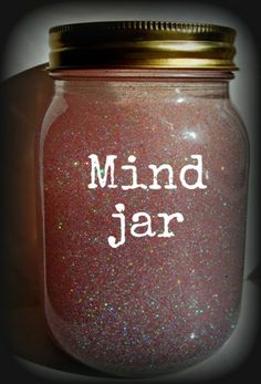 Mind Jar. reflection tool?