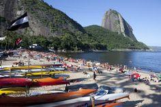 Praia Vermelha beach, Rio de Janeiro