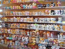 30pcs Littlest Pet Shop Lot LPS Girl Animal Loose Figures Child Collection VPS95