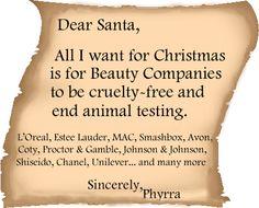Cruelty free wish via @Phyrra Nyx