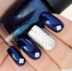 BOHEM silver nail