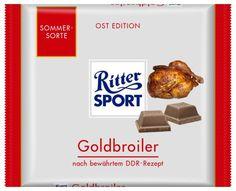 RITTER SPORT Fake Schokolade Goldbroiler