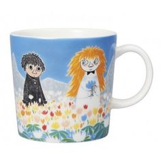 """Moomin Mugs from Arabia – A Complete Overview Friendship / Ystävyys The motif comes mainly from the story """"Who Will Comfort Toffle? The mug is sold only in Finland. Moomin Shop, Moomin Mugs, Moomin Valley, Tove Jansson, Beautiful Series, Funny Mugs, Kitchen Items, Finland, Scandinavian Design"""