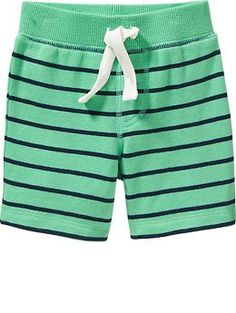 ee06a127088af4 Patterned Terry-Fleece Shorts for Baby Fleece Shorts