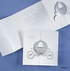 Fairy Tale Dreams - Cinderella Quinceanera Invitation. Only $2.84 each when you purchase 100!