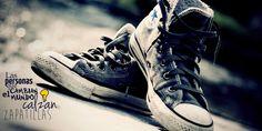 En el Día Mundial de la Justicia Social: las personas que cambian el mundo calzan zapatillas.