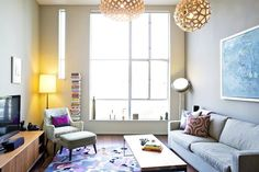Sarah's Modern Global Loft House Tour | Apartment Therapy