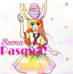 Buona Pasqua con Ykhar! Eldarya Italia.