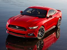 2015 Ford Mustang #muscle_cars