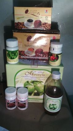 My dxn products.