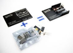 businesscarduino with components