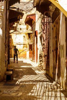 Backstreets of Marrakech - Medina of Marrakech, Morocco