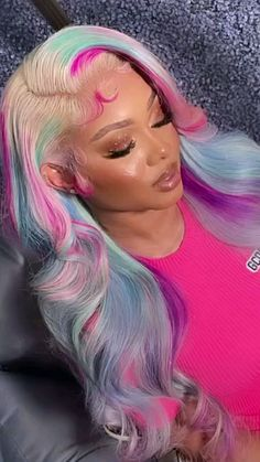 Lace Front Wigs, Lace Wigs, Eyelash Extensions, Hair Extensions, Birthday Makeup Looks, Brazilian Weave, Box Braids, Human Hair Wigs, Head Wraps