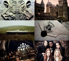 Harry Potter Aesthetics  ➤ Wizarding school: Hogwarts