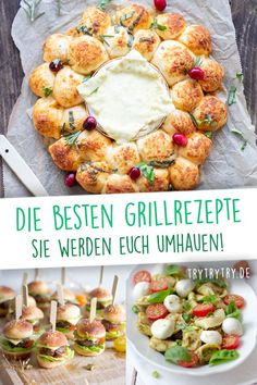 "Jetzt zur Grill-Saison gibt es viel mehr Möglichkeiten, als ""nur"" das Fleisch a… Now, during the barbecue season, there are many more ways to ""just"" throw the meat on the grill. I'll show you delicious and creative recipes for grilling Barbecue Recipes, Grilling Recipes, Meat Recipes, Slow Cooker Recipes, Best Side Dishes, Grilled Meat, Different Recipes, Summer Recipes, Food And Drink"
