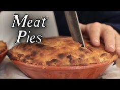 Cooking 18th Century Meat Pies at Jas. Townsend and Son - YouTube