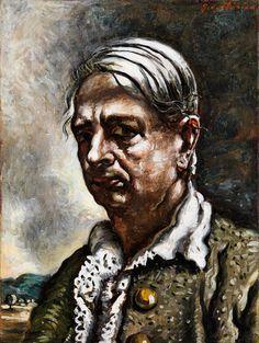 Giorgio de Chirico (1888 – 1978) - Self-portrait, 1951