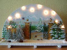 Rundbogen, Lichterbogen Weihnachten    Dieser Rundbogen ist eine schöne Dekoidee für die Weihnachtszeit! Bestimmt ein Hingucker in jedem Heim!    Der