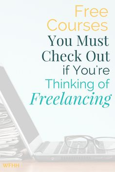 Thinking of freelancing? Check out these free courses first! Learn about popular services you can offer, how much money you might make, and what it takes to be successful. These free courses are a great way to 'try' freelancing before you commit to becoming a freelancer.