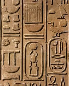 Ancient Egyptian Hieroglyphics | Ancient Egyptian Hieroglyphs ~ EGY KING