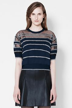 3.1 Phillip Lim Short Sleeve Pullover, $325, available at 3.1 Phillip Lim.