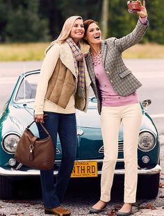Talbots - Faux-Shearling & Suede Vest | Coats and Outerwear |