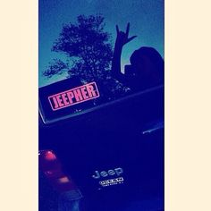 @briee_rhinesss a proud #JeepHer from New Jersey, got her decal on!  Decals are available at www.jeepbeef.com #Padgram