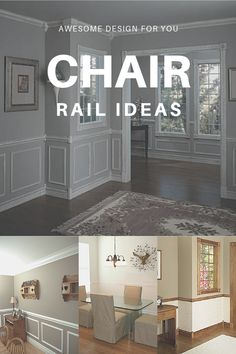 233 exciting chair rail ideas images house chair rail molding rh pinterest com