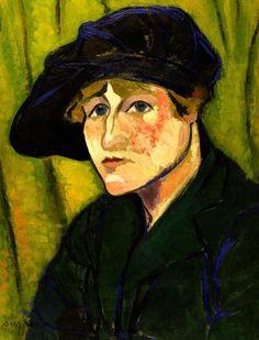 Portrait de Gaby (Suzanne Valadon, 1917, Collezione privata)