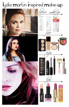 """""""Teen Wolf - Lydia Martin Inspired Make-Up"""" by staystronng ❤ liked on Polyvore"""
