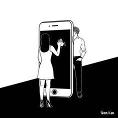 Корейский художник Henn Kim знает, что такое романтические отношения, и в своих иллюстрациях раскрывает все радости и горести любви. Через графику он точно передает те неповторимые чувства и эмоции, которые испытывал хоть раз каждый человек. Мы в AdMe.ru ни минуты не сомневались, что вы должны это увидеть, а потому спешим поделиться подборкой лучших, по нашему мнению, работ. Смотрите внимательно, возможно, вы узнаете в них себя.
