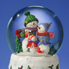 Families Dont Melt Snow Globe