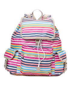 Look what I found on #zulily! Rainbow Snappy Voyager Backpack #zulilyfinds