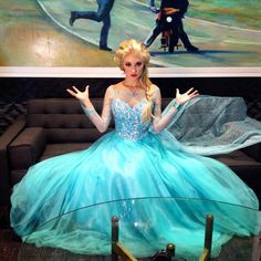 Elsa cosplay by Anna Faith
