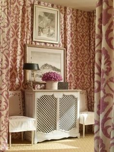 elegant radiator cover
