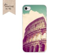 Rome Italy cell phone cover iPhone 4 4s phone case by JourneysEye, $35.00