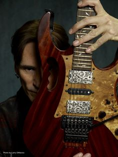 Ibanez Guitar Back Plate Joe Satriani, Eric Johnson, Steve Vai, The Legend Of Heroes, Guitar Scales, Instruments, Cheap Guitars, Guitar Strings, Ibanez