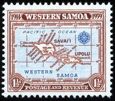 King George VI  Postage Stamps: Western Samoa 1939 (29 Aug) SG195/198