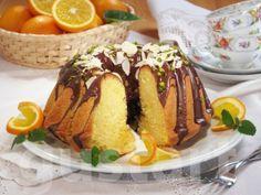 Lajos Mari konyhája - Narancsos kuglóf Ring Cake, Scones, French Toast, Food And Drink, Pudding, Cookies, Breakfast, Crack Crackers, Morning Coffee