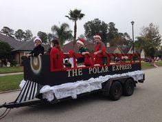 Image result for polar express parade float