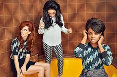"""The Mutya Keisha Siobhan comeback is proving to be quite the wild ride. When the girls released their brilliant (re-)debut single """"Flatline"""" back in July, the track was given a release date of September Far off — but sure, whatever. Rachel Stevens, Emma Bunton, Geri Halliwell, Spice Girls, Suga Free, Kenzo, Casual Wear, Trendy Fashion, Personal Style"""
