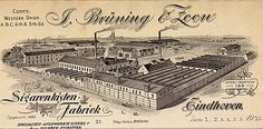 J. Bruning & Zoon. Sigarenkistenfabriek