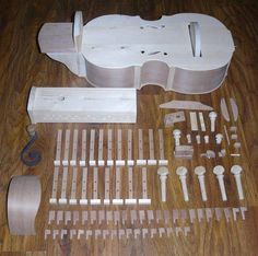 Hurry gurdy before assembly Making Musical Instruments, Music Instruments, Native Flute, Hurdy Gurdy, Medieval Music, Cellos, Musical Toys, Music Stuff, Easel
