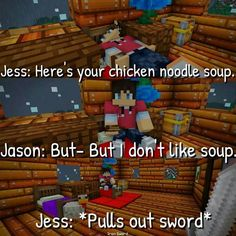Jason Jess spent all day on the soup just freaking eat it Aphmau Characters, Minecraft Characters, Aphmau Wallpaper, Aphmau Pictures, Aarmau Fanart, Aphmau Memes, Aphmau And Aaron, Zane Chan, Le Cri