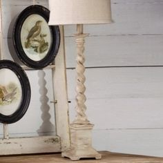 Spindle Based Table Lamp With Shade  $86