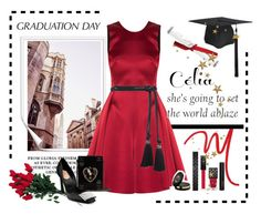 """""""College Grad"""" by conch-lady ❤ liked on Polyvore featuring Bantu, Emporio Armani, Lanvin, Chanel, Hanky Panky, Gucci and Roger Vivier"""