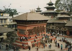 #Kathmandu is one of the most important Hindu temples of Nepal. Known as #Pashupatinath Temple, it surprises visitors for its pagoda style of architecture despite being a Hindu temple. Moreover, the temple features a gilded rooftop, intricately carved rafters, and four main doors coated in silver. Several statues of deities can be seen around the main doors. The main highlight is the statue of Siva's bull located inside the #temple.