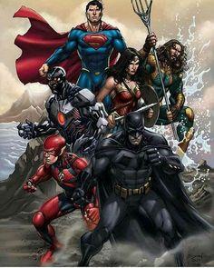 DC Justice League. For similar content follow me @jpsunshine10041